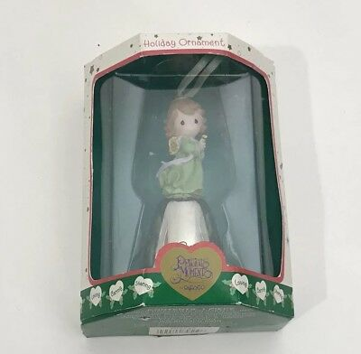 NIB Precious Moments ~ Peace ~ Holiday Bell Ornament - NEW Vintage