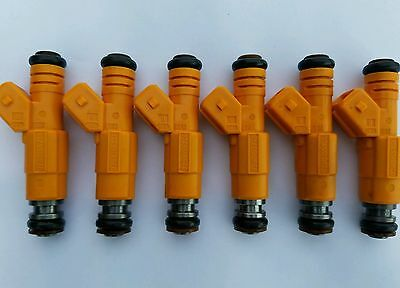 87-97 JEEP 4.0L BOSCH FUEL INJECTORS SET 6 19LB EV1 UPGRADE!