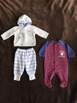 *Lot Of 2* Child of Mine by Carter's Fleece Full Zip Hoodie & Pants And Sleeper