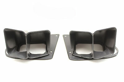 Used VR VS Holden Commodore Door End Air Vent Covers Black 92052310/92052311