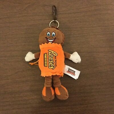 """HERSHEY'S REESE'S PEANUT BUTTER CUP MAN 11"""" PLUSH DOLL Hershey's Chocolate World"""