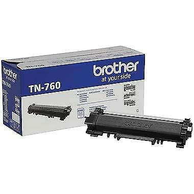 Brother TN760 Original Black Toner Cartridge HY For HL-L2370DW L2390DW L2395DW