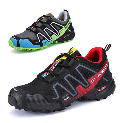 Fashion Men Hiking Shoes Breathable Running Sports Sneakers Athletic Big Size 11