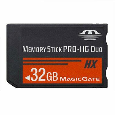 32GB Flash Card Memory Stick PRO-HG Duo HX MS MagicGate For Sony PSP High Speed