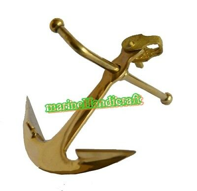 Brass Anchor Paper weight Table Decor & Gift Nautical Home Decoration