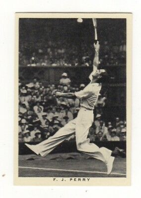 Wills Tennis Card. Fred Perry