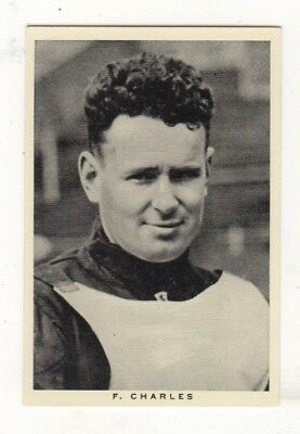 Wills Sports Card. Frank Charles, Speedway