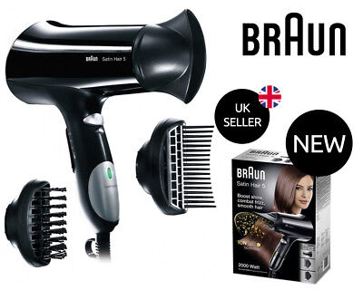 Braun Satin Hair 5 Hairdryer HD550