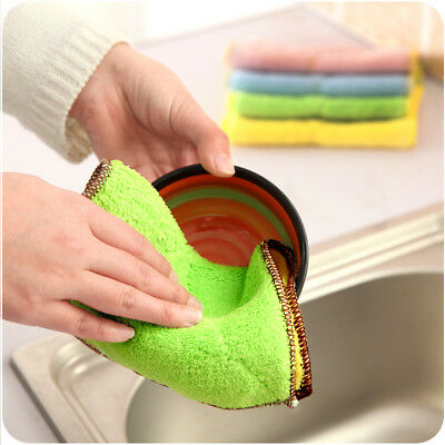 Food Grade Silicone Dish Scrubber Multi-Purpose Cleaner Antibacterial Brush SW1X