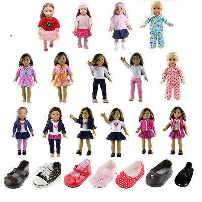 Clothes for 18 Inch American Girl Doll Our Generation My Life Doll Dress Sweater