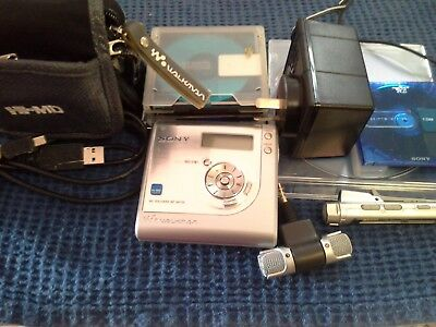 Sony minidisc mz nh 700 network mdlp+extras like new top condition