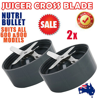 2 Nutribullet Extractor Blade Cross Nutri Bullet 600/900w Pro Replacement Parts