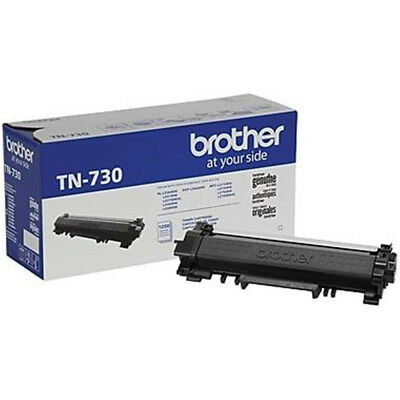 Brother TN730 Original Black Toner Cartridge For DCP-L2550DW  HL-L2370DW L2390DW