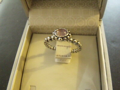 Bague argent Ring Anello argent silver glamour T. 7 New