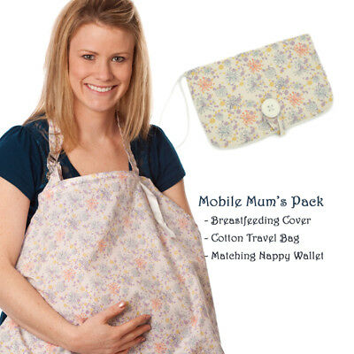 Breastfeeding Cover and Nappy Wallet