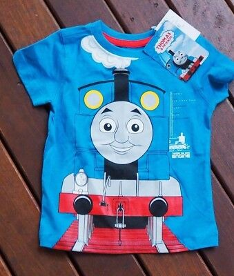 Thomas the tank engine t-shirt, baby boy size 1 BRAND NEW, OFFICIAL LICENCED