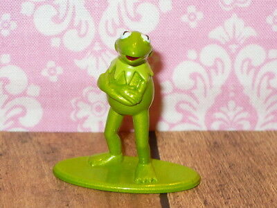 "Disney Die-Cast Metal KERMIT the FROG Mini Figure 1.5"" The MUPPETS Figurine"