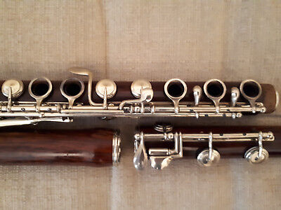 Cylindric wooden Boehmflute with system 1832 by A.Buffet jeune Paris