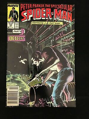 The Spectacular Spider-Man #131 Vg/fn Marvel Comics