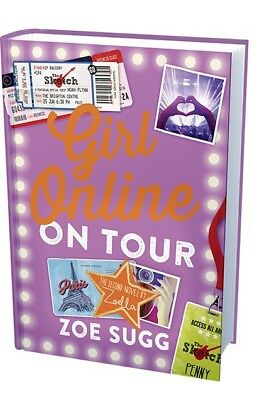 Girl Online: On Tour: The Second Novel by Zoella by Zoe Sugg (Hardback, 2015)