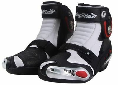Hot Motorcycle Boots Speed Racing Offroad Protective Short Boot Safety Pro Shoes