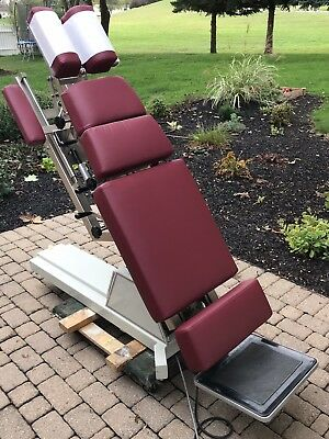 Chiropractic Table - New Upholstery Power Front Section 4 drops Price Reduced