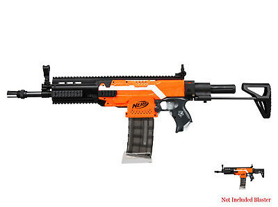 Worker Mod F10555 Adjustable Stock SCAR Barrel Combo 15 Items for Nerf STRYFE