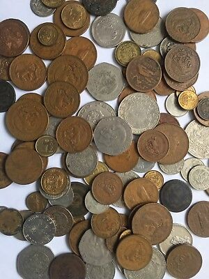 Mexican Coins Mixed Lot of 10 Assorted Peso and Centavo Coins My Choice