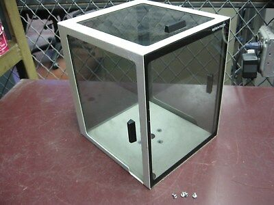 "SCIENTECH 7.5"" x 8.25"" x 9.5"" H Lab Scale Top Glass Cover Wind Shield"