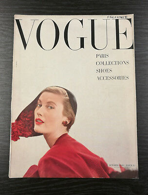 VOGUE Magazine October 1949