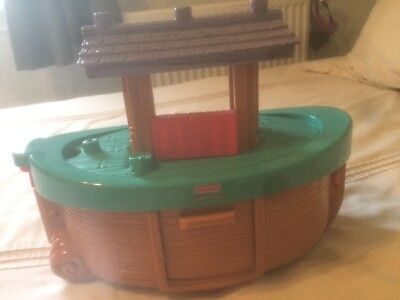 Noah's ark, great condition, fisher price little people. All pieces included.