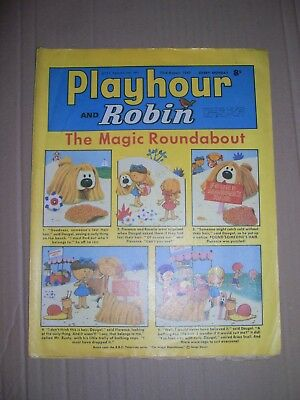 Playhour and Robin issue dated August 23 1969