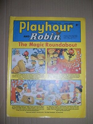 Playhour and Robin issue dated November 22 1969