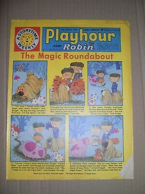 Playhour and Robin issue dated October 17 1970