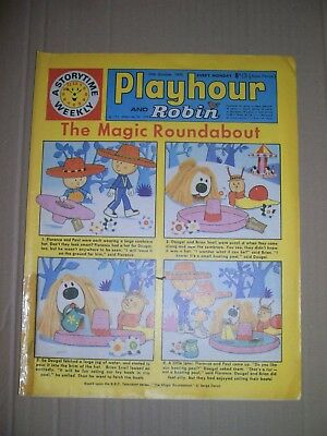 Playhour and Robin issue dated October 24 1970