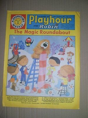 Playhour and Robin issue dated December 12 1970