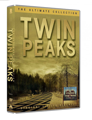 Twin Peaks Collezione Completa Stagioni 1- 2 10 Dvd David Lynch Serie Tv