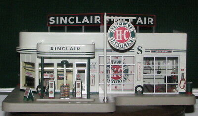 Danbury Mint Sinclair Service Station