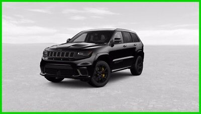 2018 Jeep Grand Cherokee Trackhawk Diamond Black Est Ship Date 12/21/2017 2018 Trackhawk New 6.2L V8 Est Ship Date 12/21/2017 Only 2500 in 2018