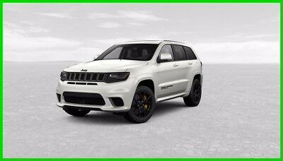 2018 Jeep Grand Cherokee Trackhawk Ivory White EST Ship Date 12/18/2017 2018 Trackhawk New 6.2L V8 EST Ship Date 12/18/2017  Only 2500 for 2018