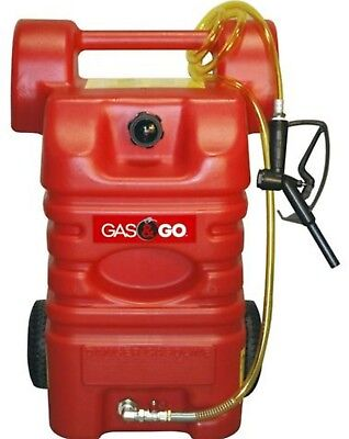15 Gallon Portable Fuel Station Gas Caddy Gasoline Kerosene Diesel Storage Pump