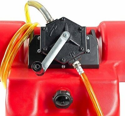 2 Way Fuel Transfer Rotary Pump Kit Heavy Duty Gasoline Diesel Kerosene Gas Lift