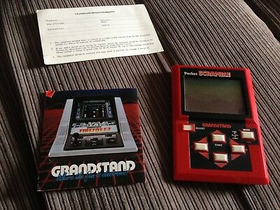 Grandstand Scramble Boxed Lcd Game