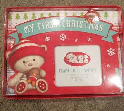 my 1st Christmas photo frame gift