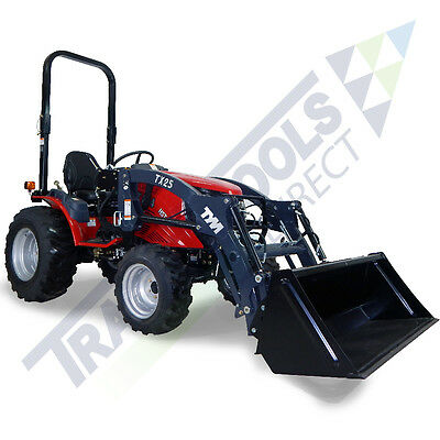 Year-end Auction! TYM T254 Tractor, front loader+industrial tires, Yanmar engine