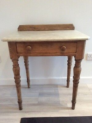 Genuine Victorian Marble Topped Washstand
