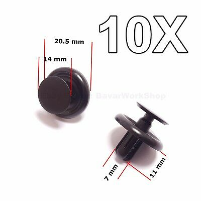10x for Toyota engine Shields Cover and Wheel Arch Inner Wing Lining