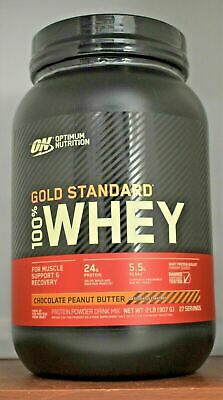 Gold Standard Whey ON 100% Whey Protein 2 lb Optimum Nutrition 2lb Choose Flavor