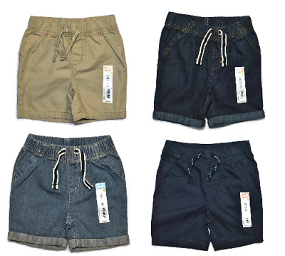 NEW JUMPING BEAN Boys COTTON Spring Summer Elastic Waist Shorts 18 24 Months 2T