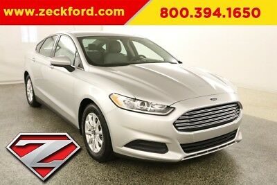2016 Ford Fusion S 2.5L I4 16V Automatic FWD